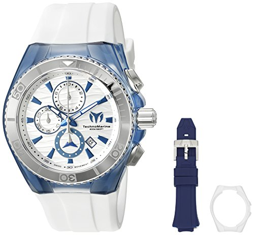 Technomarine Men's 'Cruise Original' Swiss Quartz Stainless Steel Casual Watch (Model: TM-115055)