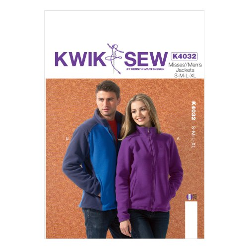 KWIK-SEW PATTERNS K4032 Misses'/Men's Jackets Sewing Template by KWIK-SEW PATTERNS