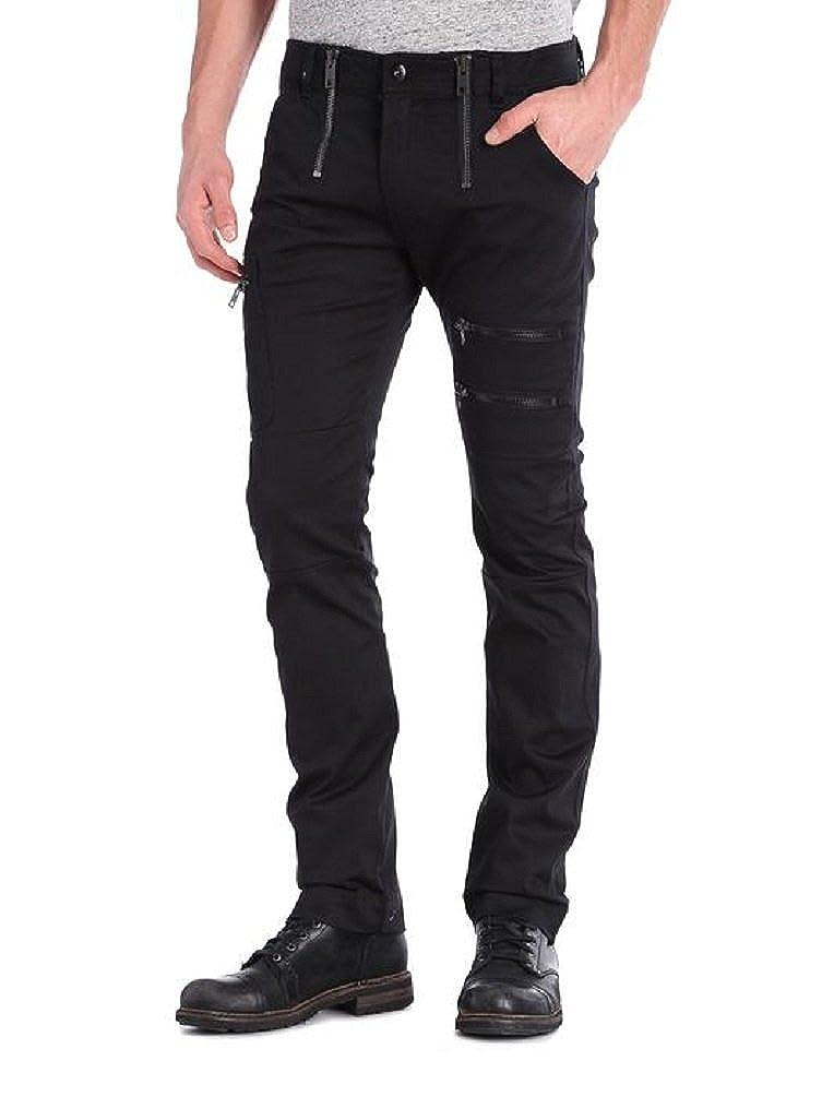 Diesel Mens P-AINA Jeans Black