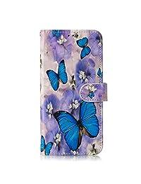 NEXCURIO Samsung Galaxy J6+ (J6Plus) Wallet Case with Card Holder Folding Kickstand Leather Case Flip Cover for Galaxy J6+ (J6 Plus) 2018 - NEYHU010055#5