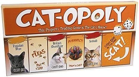 cat-opoly Monopolio juego de mesa por tarde para el Sky, nuevo, ^ g # fbhre-h4 8rdsf-tg1317594: Amazon.es: Juguetes y juegos