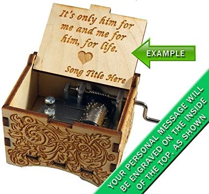 Personalizable caja de música,