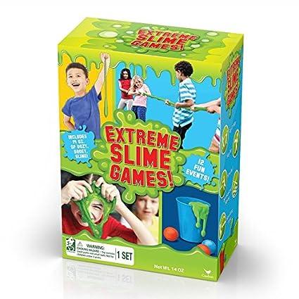 Amazon com: Cardinal Extreme Slime Games Creative Set: Toys & Games