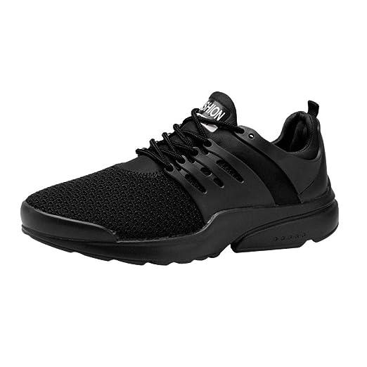 9eaa9ba88b06c Amazon.com: Challyhope Mens Air Cushion Running Shoes Women ...