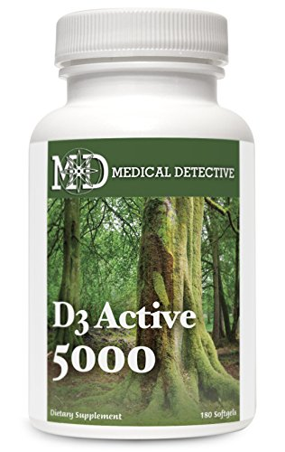 D3 Active 5000 (Soy Free)