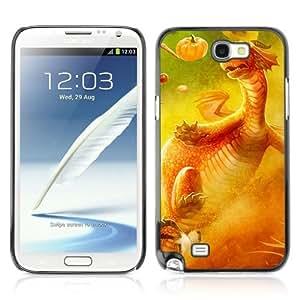 YOYOSHOP [Funny & Cute Dragon] Samsung Galaxy Note 2 Case