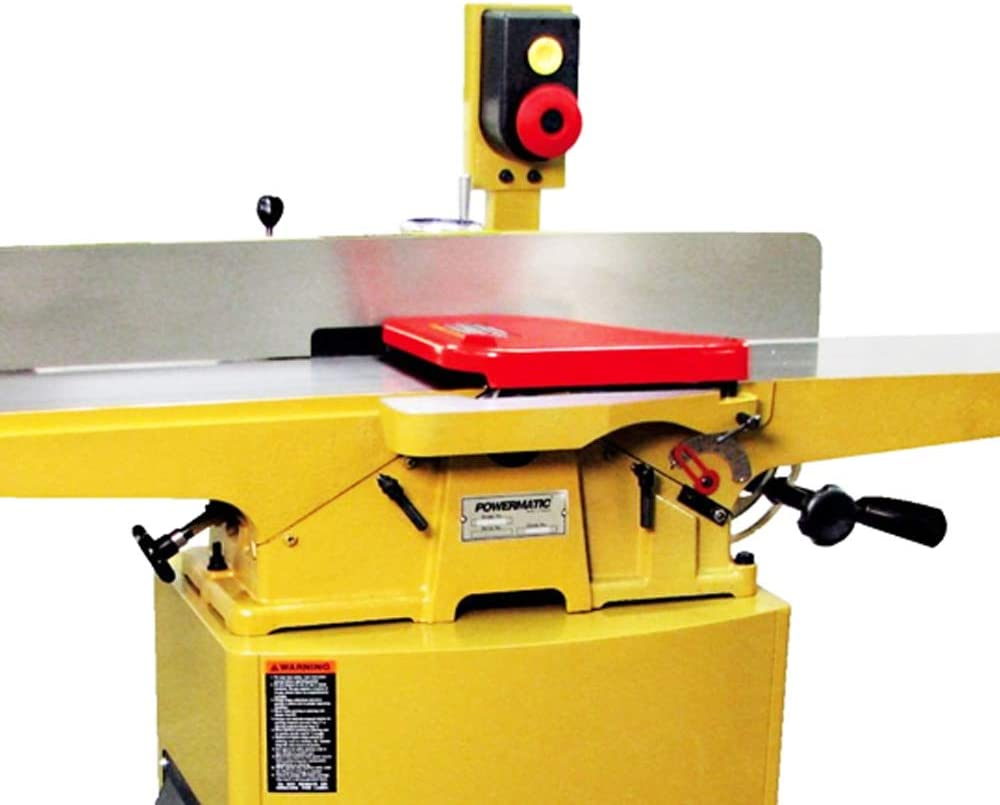 Powermatic 1610086K Model 60HH 8-Inch 2 HP 1-Phase Jointer with Helical Cutterhead with Mobile Base for 60C,60HH Jointers