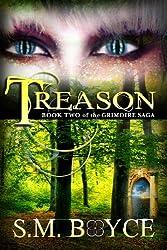 Treason: Book Two of the Grimoire Saga (an Epic Fantasy Adventure)