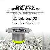 KPOST Drain Backflow Preventer, One Way Seal
