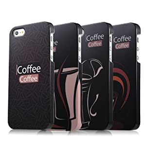 VOORCA New Arrival Coffee Tale Design Snap On Hard Case Cover for iPhone 5 5G Style 1