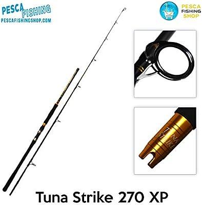 Caña de pesca de spinning, para atún y siluro, Tuna Strike ...