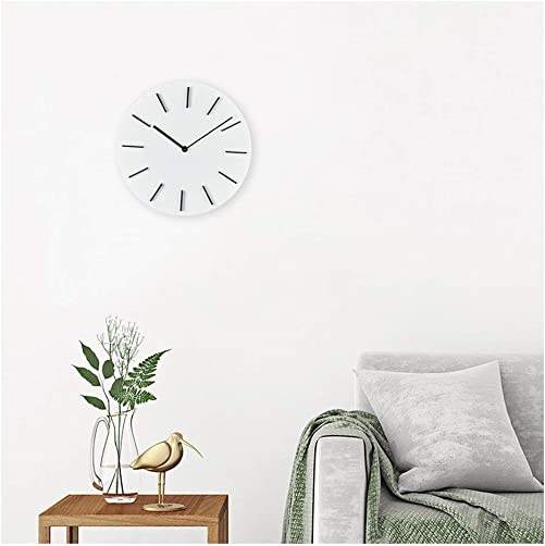 MOTINI Modern Wall Clock,11inch Round Easy to Read Battery Operated Durable Elegant Wall Clocks Decorative