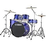 Yamaha Rydeen RDP2F56 5-Pc Drum Kit w Hardware & Cymbals - Fine Blue