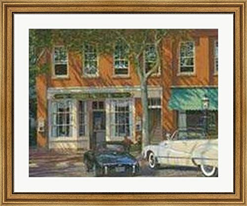 Spring Street II by P. Moss Framed Art Print Wall Picture,, used for sale  Delivered anywhere in USA