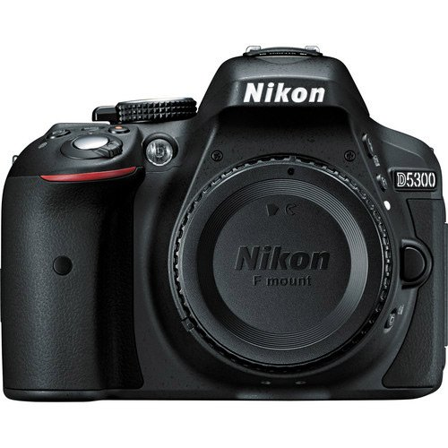 Nikon D5300 24.2 MP CMOS Digital SLR Camera with Built-in Wi-Fi and GPS Body Only (Black) ()