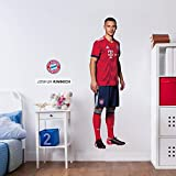k l wandsticker wandtattoo aufkleber poster selbstklebend fc bayern james rodriguez. Black Bedroom Furniture Sets. Home Design Ideas