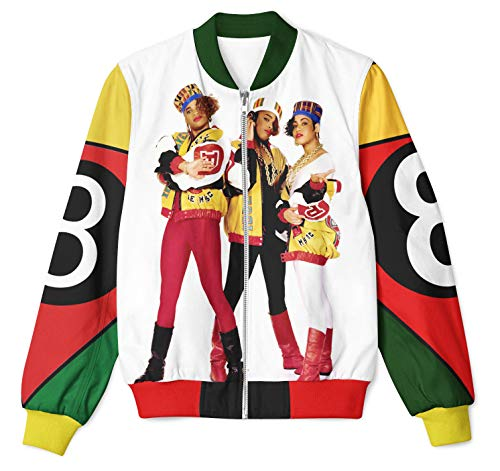 New Salt and pepa Design Full-Printed Jacket exclusif Many Available in USA Sizes (with The Group Picture) -