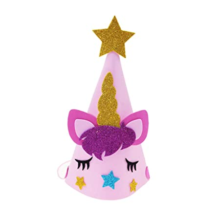Ruiting Sombrero cumpleaños Unicornio Sombrero de Fiesta ...