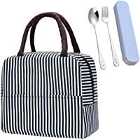 Lunch Bag Tote Bag Lunch Bag for Women Lunch Box Insulated Lunch Container,Portable Lunch Box Holder Cooler Bag for…