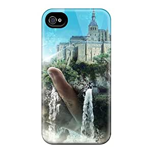 Durable Cases For The Iphone 6- Eco-friendly Retail Packaging(castles Moon Waterfalls 3d) Black Friday