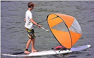 Kit de vela de viento de 42 pulgadas SUP Downwind, barcos de remo ...