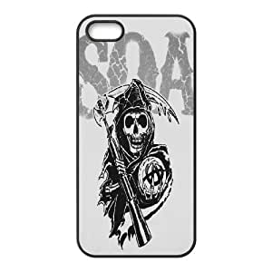 Custom Case Sons of Anarchy For iPhone 5, 5S Q3V423114