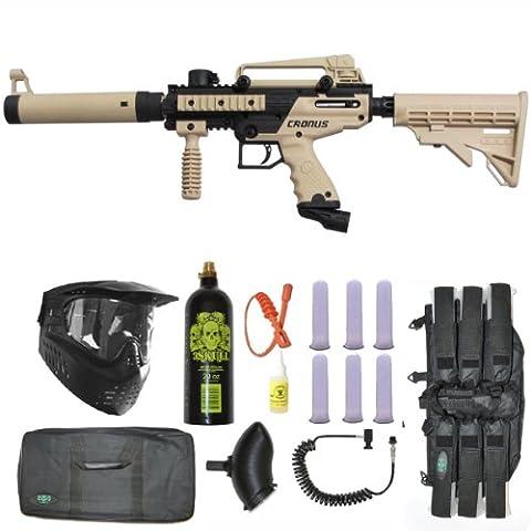 Tippmann Cronus Tactical Paintball Gun 3Skull Sniper Set - Gun Sniper Set