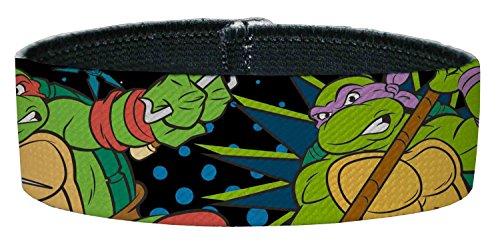 TMNT Cartoon TV Series Cowabunga Action Pose Plastic Bracelet (Ninja Turtles Sensei)