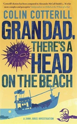 book cover of Grandad, There\'s a Head on the Beach
