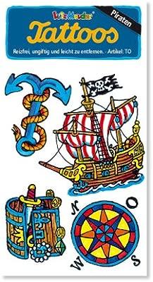 Lutz Mauder Lutz Mauder4429 - Tatuaje Pirata (Talla única): Amazon ...
