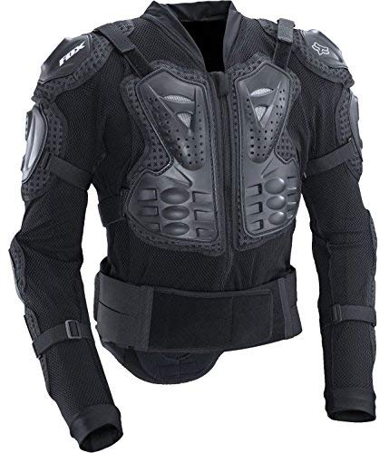 (Fox Racing Titan Sport Protective MTB Jacket (Black, Medium))