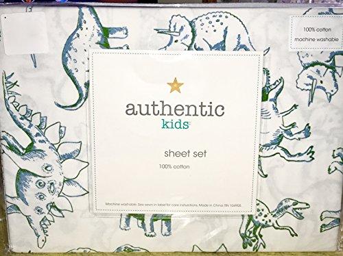DINOSAURS 100% cotton Sheet Set (authentic kids) FULL SIZE (ALL COTTON)