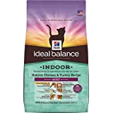 Hill's Ideal Balance Indoor Natural Chicken & Turkey Recipe Adult Dry Cat Food, 7-Pound