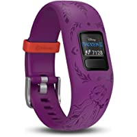 Garmin vivofit Jr. 2 Disney Frozen 2 Anna Fitness Activity Tracker for Kids, Adjustable Band - Purple