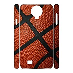 Fggcc Basketball Case for 3D SamSung Galaxy S4 I9500,Basketball S4 Cell Phone Case (pattern 7)