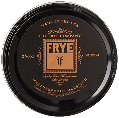 FRYE Leather Conditioning Cream in Neutral (Leather Conditioner Boots)