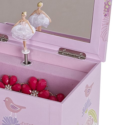 Mele & Co. Piper Girl's Musical Ballerina Jewelry Box (Bird & Blooms Design) by Mele & Co. (Image #4)
