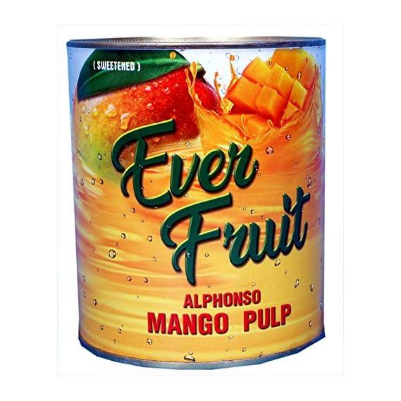 Ratna Everfruit Alphonso Mango Pulp, 850 g