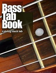 Bass Tab Book: 4 string blank tab