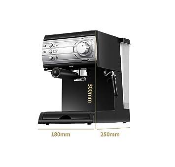 WJP Máquina de café pequeña para Uso doméstico, máquina de café semiautomática de Espuma de