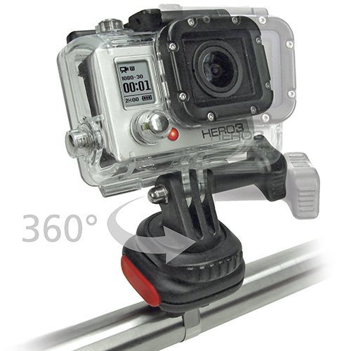 Rixen & Kaul KLICKfix CamOn für GoPro Kamera (Kamera-Befestigungs-Adapter) 0210CO