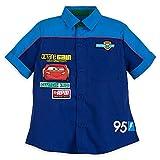 #6: Disney Lightning McQueen Mechanic Shirt For Boys