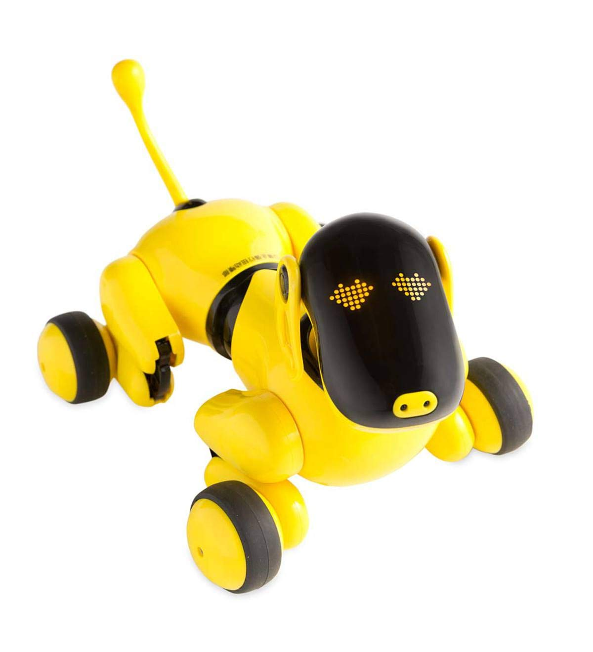 HearthSong Gizmo The Voice Controlled Robotic Dog - Electronic Pet Toy for Kids - 13 L x 5 W x 7'' H, Yellow by HearthSong (Image #5)