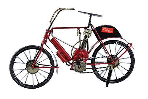 Genda 2Archer Small Iron Decorative Bicycle Model Handmade Souvenirs Craft Bike Model Art (Red) by Genda 2Archer