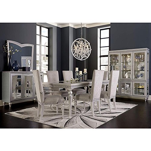Charmant Aico Amini Melrose Plaza 9 Piece Dining Set   Table