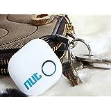 NUT 2 Bluetooth Intelligente Anti Lost Smarrimento Localizzatore GPS Colore Bianco Android IOS