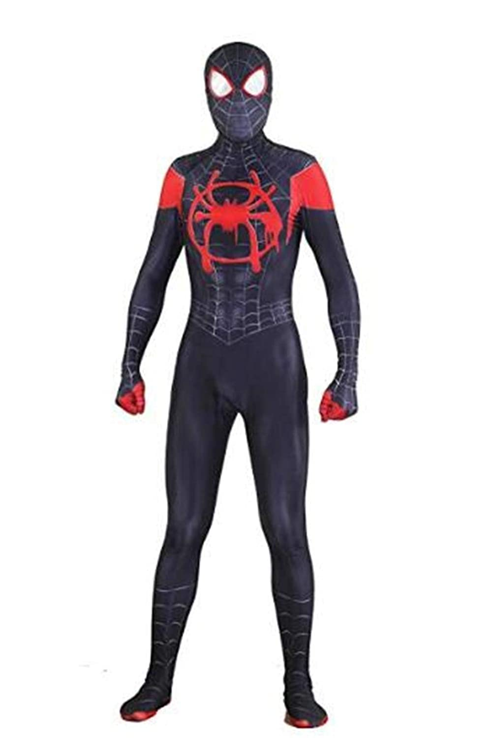 Vera Funk Lycra Spandex Halloween New into The Spider Verse Miles Morales Cosplay Costumes Adult/Kids