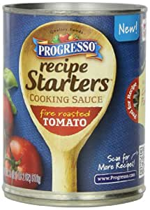 Progresso Recipe Starters Cooking Sauce, Fire Roasted Tomato, 18-Ounce Cans (Pack of 12)