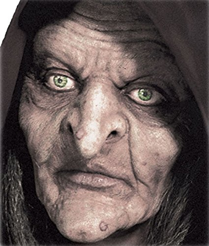 Woochie by Cinema Secrets Swamp Witch Foam Prosthetics, Multi, One Size (Halloween Prosthetics)