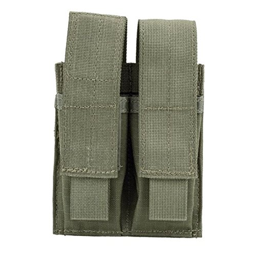 - BLACKHAWK! 37CL09RG Strike Double Pistol Mag Pouch, Ranger Green